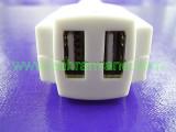 зарядно за таблет от колата 2xUSB 5V 0.72A