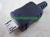 Сглобяема - права micro USB мъжка букса