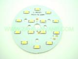 Мощни светодиоди 5730 (5630) на платка 65мм  7W 630-770lm