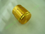 Копче за потенциометър, 'златно' с апертура 6мм