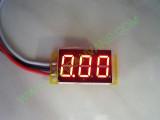 """0.36"""" Червен 0-200V DC LED сегментен волтметър без панел с 3 проводника"""