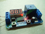 Контролер за времеви цикъл ON(1-999сек) / OFF(1-999сек) с реле на изхода