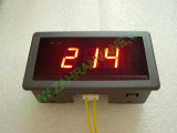 0.56 инч Червен 70-400V AC LED сегментен волтметър с панел с 2 проводника