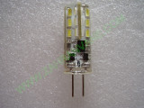 AC/DC 12V Студено бяла G4 LED лампа 6000K