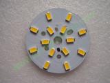 Мощни светодиоди 5730 (5630) на платка 48mm 7W 770lm Топло бели