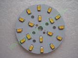 Мощни светодиоди 5730 (5630) на платка 64mm 9W 990lm Топло бели