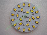 Мощни светодиоди 5730 (5630) на платка 64mm 12W 1200lm Топло бели