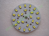 Мощни светодиоди 5730 (5630) на платка 64mm 12W 1200lm студено бели