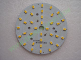 Мощни светодиоди 5730 (5630) на платка 99mm 18W 1800lm Топло бели