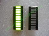 Матрица с 10 броя светодиоди тип БАРГРАФ - зелена