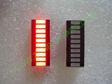 Матрица с 10 броя светодиоди  тип БАРГРАФ - червена