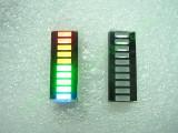 Матрица с 10 броя светодиоди  тип БАРГРАФ - 4 цвята