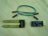 Сензор с модул за измерване на влага в почвата