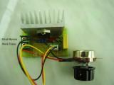 Фазов регулатор (мощен димер) до 3800W с BTA41800B и изнесен потенциометър