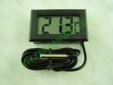 Дигитален термометър с външна сонда с 0.7м кабел