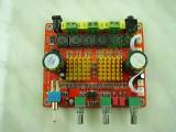 2*50W + 1*100W Клас Д мощен аудио усилвател 12-24V DC