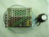 Фазов регулатор (мощен димер) до 4000W с BTA41800 и изнесен потенциометър