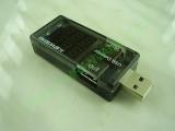 VA метър за USB charge 3-9V / 0-3А с два изхода