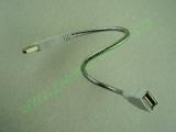USB кабел в метална серпентина мъжки към женски