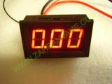 """0.56"""" Червен 0-9.99А DC LED 3 сегментен амперметър с калибрация"""
