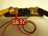 Амперметър DC 0-10A 0.36 инч с калибрация и външен шунт