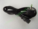 Захранващ кабел 1.1м с конектор IEC-C13