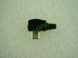 Сглобяема - ъглова micro USB  мъжка букса 6.8мм
