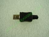 Сглобяема - права micro USB мъжка букса 8.8мм
