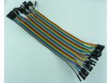Кабел DuPont 40 пина 20 см 10 цвята
