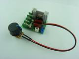 Фазов регулатор (мощен димер) до 2000W с BTA16-600B, предпазител и изнесен потенциометър