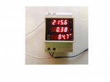 AC VA метър D52-2048 за DIN шина