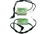 Трансфертер V6-12 • 12V/0.47A в шлаух с 20см кабел и букса 2.1/5.5мм