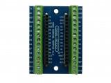Разширителна платка с клеми за Arduino NANO асемблирана