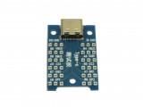 USB3.1 type C тестова платка с женски конектор