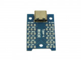 USB Type-C женски конектор към тестова платка