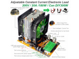 Електронен товар 150W 200V/20A за измерване капацитета на акумулатори