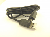 Кабел USB към microUSB 100см, 0.32oHm, черен