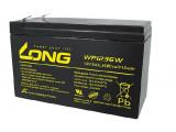 Акумулатор оловно киселинен LONG WP1236W, 12V/ 9Ah за UPS