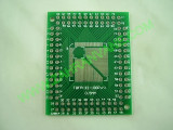 Адапторна платка TQFP: 0.5mm(32-100pins) / 0.8mm(32-64pins)