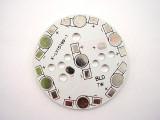 Алуминиева платка за 7 диодa 1W, 3W Amou-0487