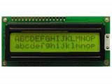 LCD дисплей 1602A Жълт