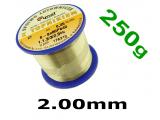 Тинол CYNEL 60/40 флюс SW32 - 1.1.3-3/2.5% 2.0мм 250g