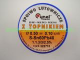 Тинол CYNEL 60/40 флюс SW32 - 1.1.3-3/2.5% 0.5мм 100g