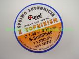 Тинол CYNEL 60/40 флюс SW32 - 1.1.3-3/2.5% 1.0мм 100g