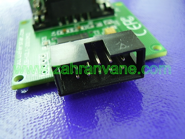 RS232 към TTL с MAX202 аналог на MAX232 | Захранване Ком: http://www.zahranvane.com/RS232-TTL-MAX202